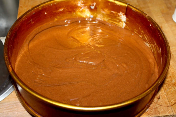 søtppotetsalat, honey-mustard, fyrstekake og sjokoladekremkake 150