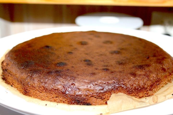søtppotetsalat, honey-mustard, fyrstekake og sjokoladekremkake 175