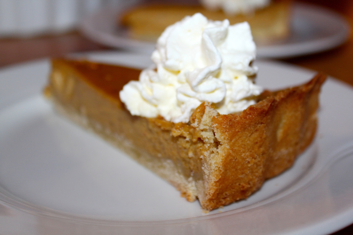 Pumpkin Pie - Happy Thanksgiving!