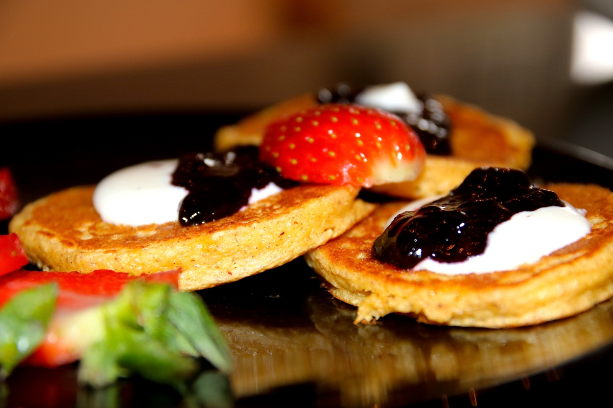 Josefines frokostpannekaker med havregryn